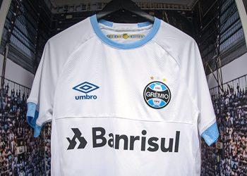 Camiseta suplente Umbro 2018 del Grêmio | Imagen Web Oficial