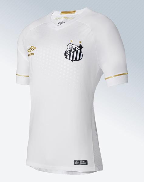 Camiseta titular Umbro 2018 del Santos | Foto Web Oficial