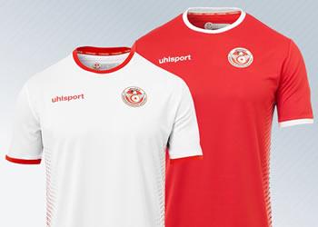 Camisetas de Túnez Mundial 2018 | Imagen uhlsport
