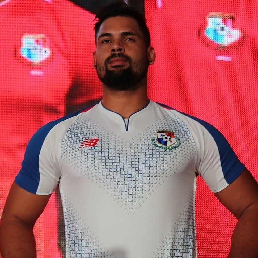 Camiseta alterna de Panamá Mundial 2018 | Foto FEPAFUT