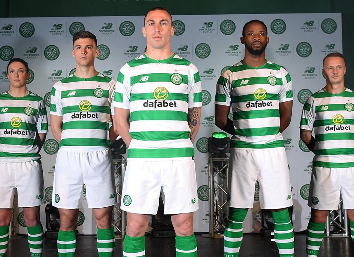 Camiseta titular 2018-19 del Celtic FC | Foto Web Oficial