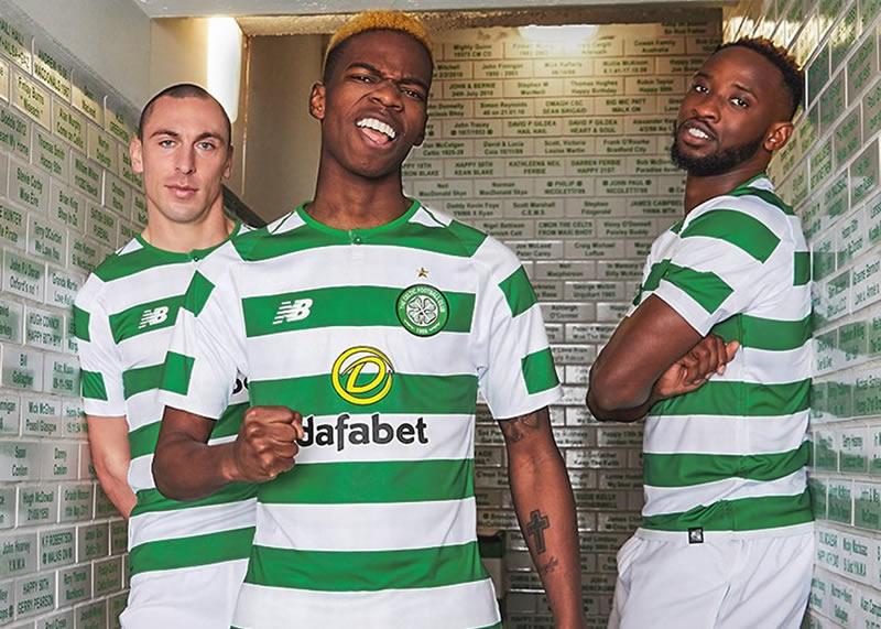 Camiseta titular 2018-19 del Celtic FC   Foto New Balance