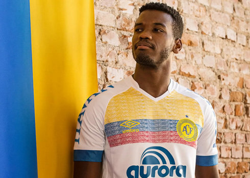 Camiseta Umbro Nations 2018 del Chapecoense   Foto Web Oficial