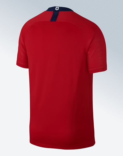 Camiseta titular 2018-2019 de Chile | Imagen Nike