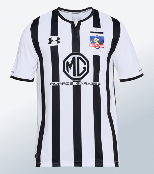 Nueva camiseta alternativa 2018 del Colo-Colo | Imagen Under Armour