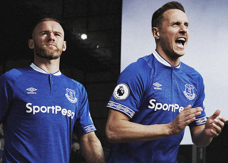 Camiseta titular Umbro 2018/19 del Everton FC | Foto Web Oficial