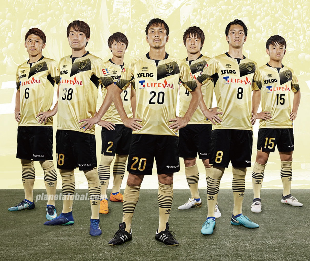 Camiseta 20 aniversario del FC Tokyo | Foto Umbro