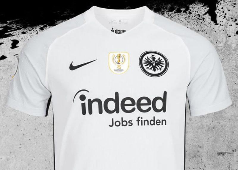 Finaltrikot Nike del Eintracht Frankfurt | Imagen Web Oficial