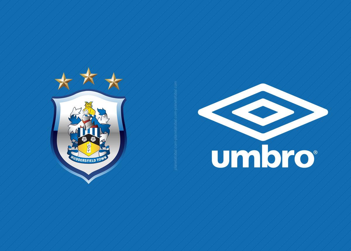 Huddersfield Town vestirá Umbro desde 2018-2019