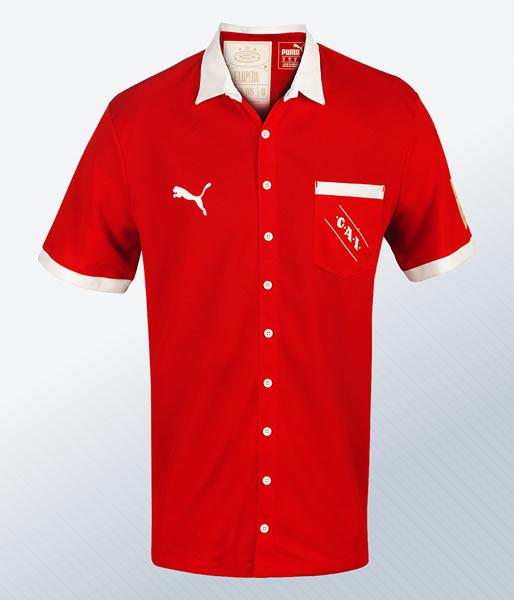 Camiseta retro de Independiente Edición Limitada | Imagen Web Oficial