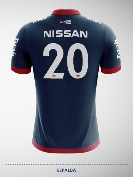 Nuevo Kit Away II de Nacional | Foto Web Oficial