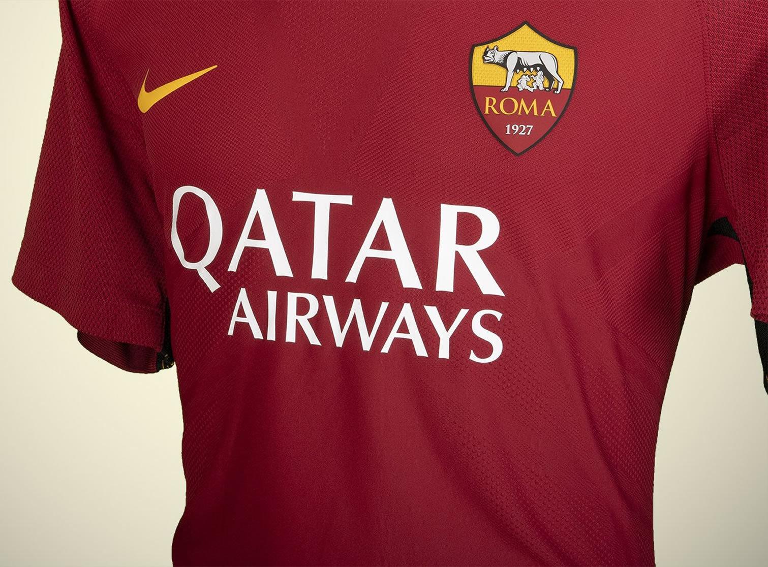 Qatar Airways nuevo sponsor de la AS Roma