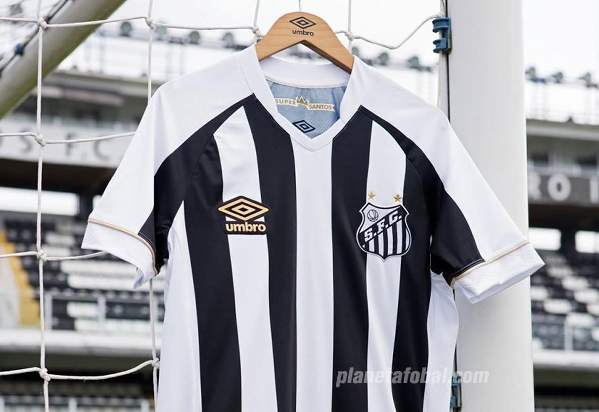 Camiseta suplente Umbro 2018 del Santos | Foto Web Oficial