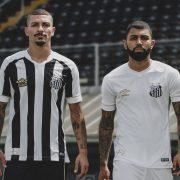 Camisetas Umbro 2018 del Santos | Foto Web Oficial