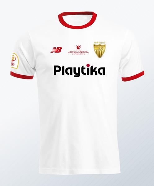 Camiseta especial New Balance del Sevilla | Imagen Web Oficial
