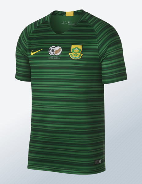 Camiseta suplente de Sudáfrica 2018/19 | Imagen Nike