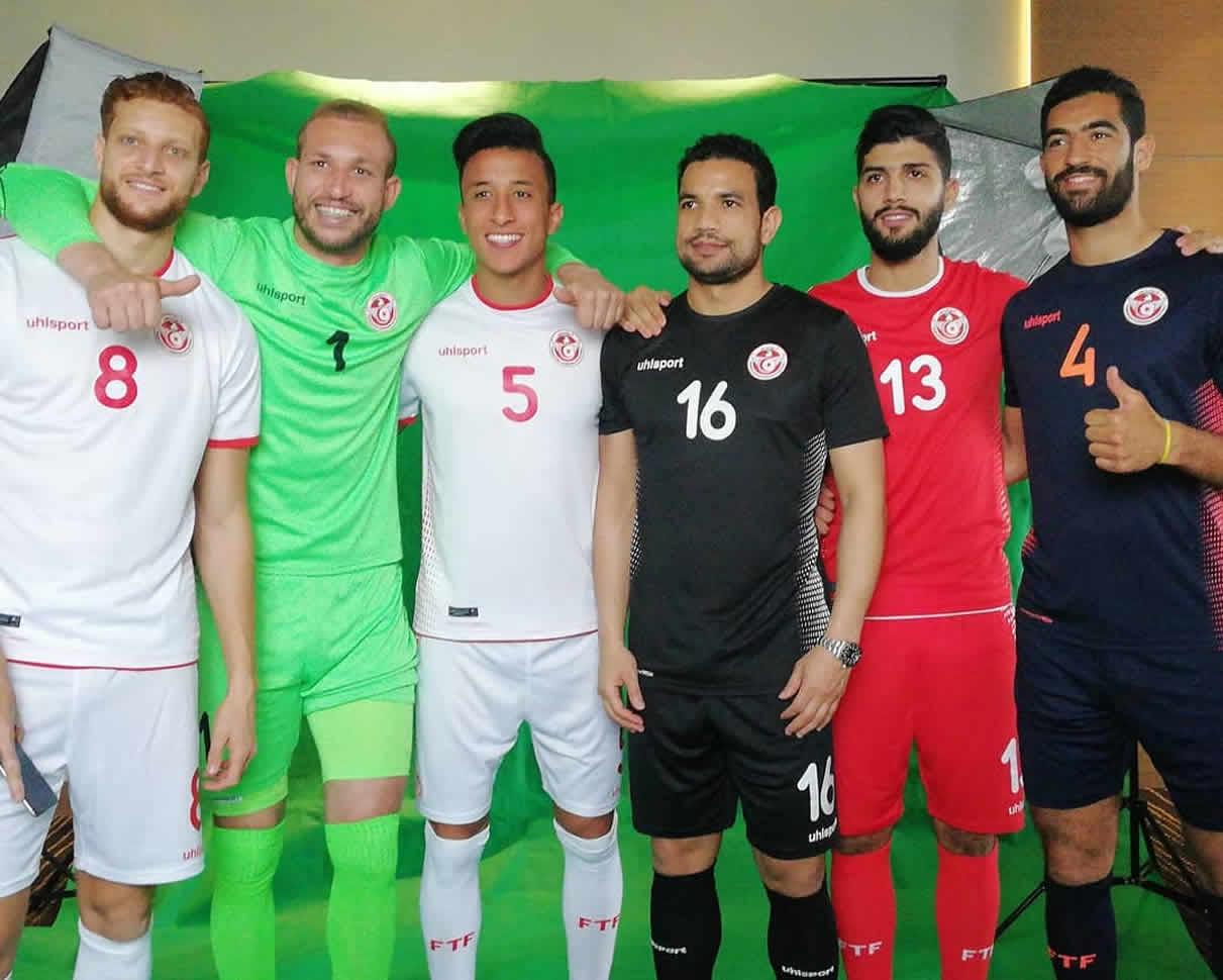 Nuevas camisetas de Túnez Mundial 2018 | Imagen Instagram Oficial