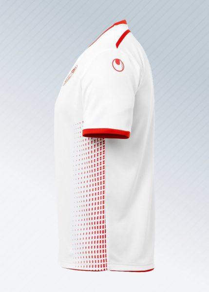 Camiseta titular de Túnez Mundial 2018 | Imagen uhlsport