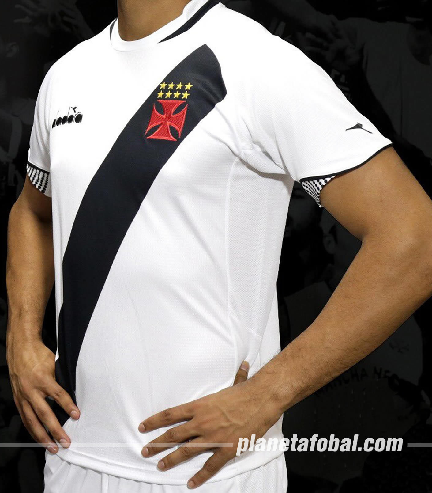 Camisetas Diadora del Vasco Da Gama 2018 711cc20f00a7d