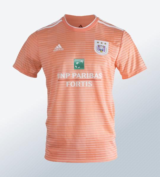 Camiseta suplente Adidas 2018/19 del Anderlecht   Imagen Web Oficial