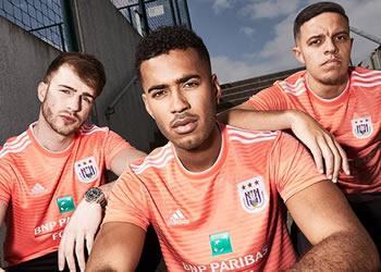Camiseta suplente Adidas 2018/19 del Anderlecht | Imagen Web Oficial