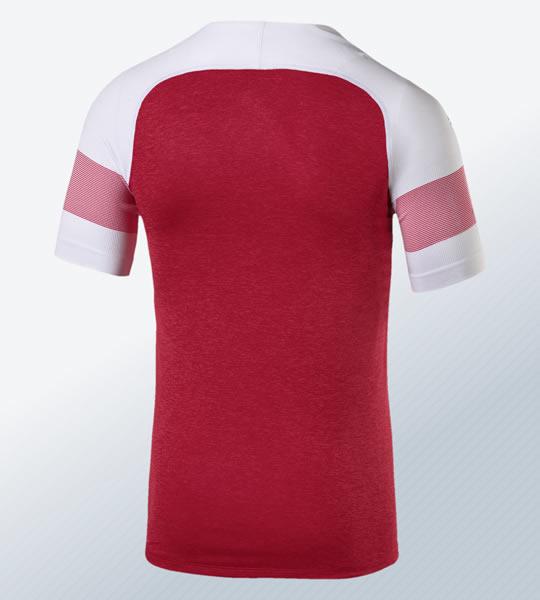 Camiseta titular 2018/19 del Arsenal | Imagen Puma