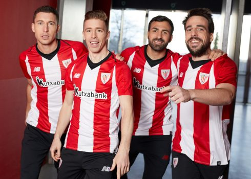 Camiseta titular 2018/19 del Athletic Bilbao | Imagen Web Oficial