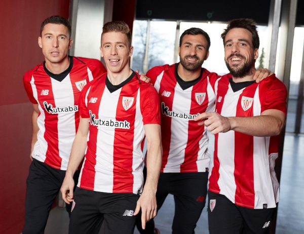 f1e65e1fe0a75 Camiseta titular New Balance del Athletic Bilbao 2018 19