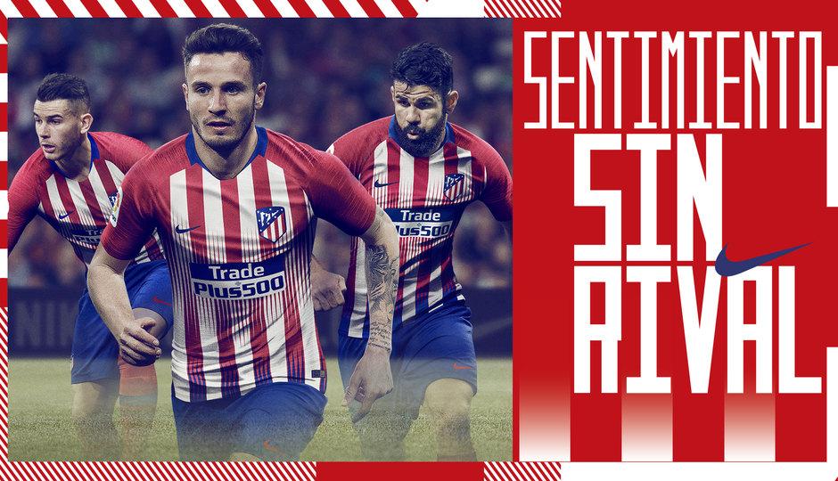 Camiseta titular del Atlético de Madrid 2018/19 | Imagen Web Oficial