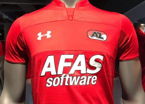 Camiseta titular Under Armour 2018/19 del AZ Alkmaar | Imagen Web Oficial
