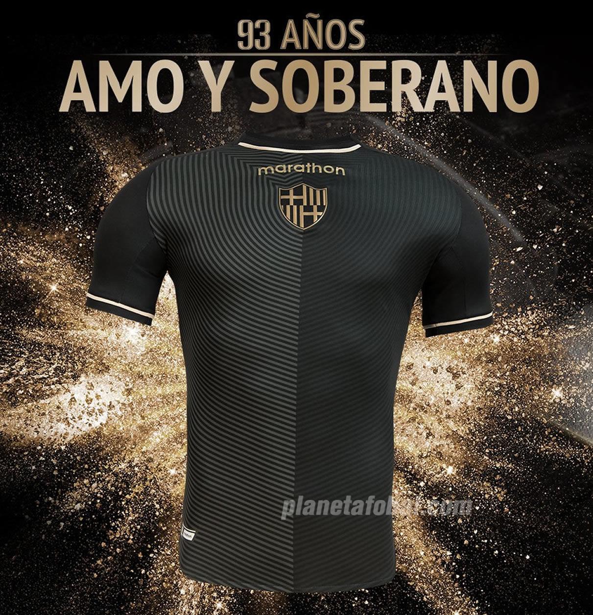 Camiseta conmemorativa 93 años del Barcelona SC | Imagen Marathon