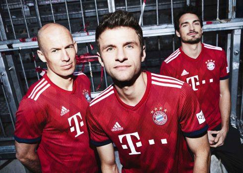 Nueva camiseta del FC Bayern München 2018/19 | Foto Adidas