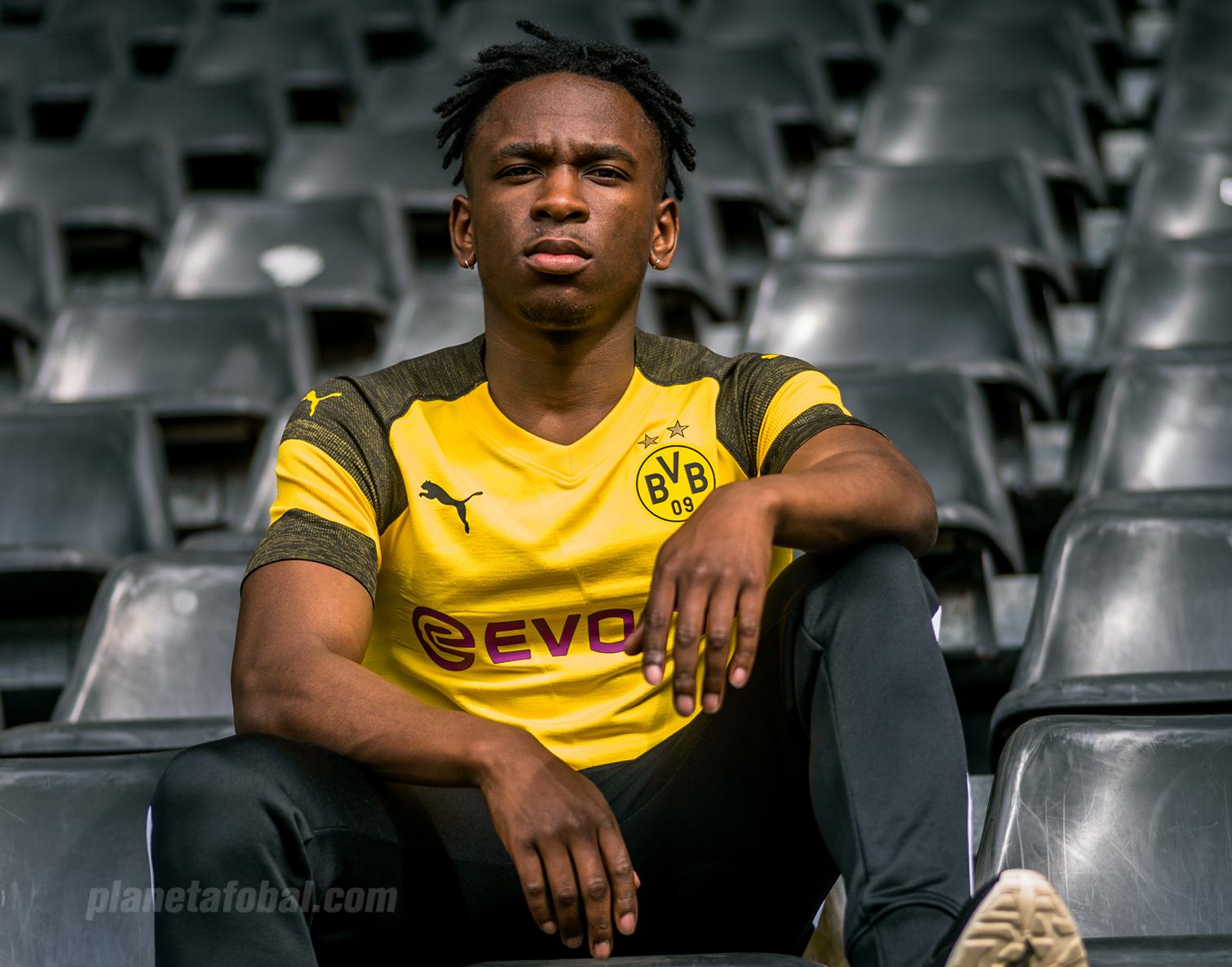 Nueva camiseta titular 2018-19 del Borussia Dortmund | Foto Puma