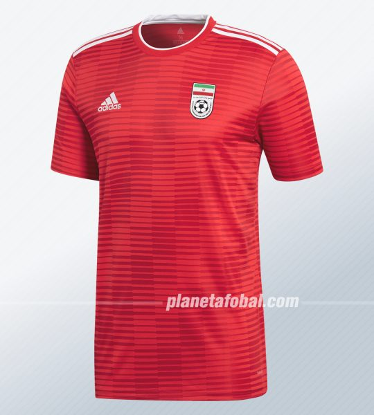 Camiseta alternativa Adidas de Irán 2018