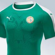 Camiseta titular de Senegal Mundial 2018 | Imagen Puma