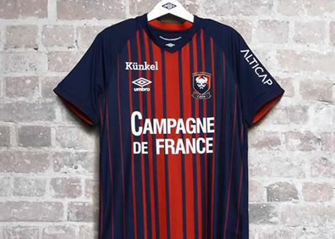 Camiseta titular Umbro 2018/19 del SM Caen | Foto Web Oficial