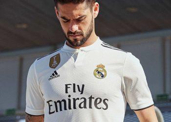 Isco con la camiseta titular 2018/19 del Real Madrid | Imagen Adidas