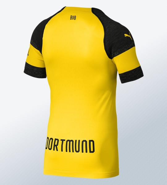 Nueva camiseta titular 2018-19 del Borussia Dortmund | Imagen Puma