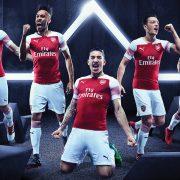 Nueva camiseta titular 2018/19 del Arsenal | Imagen Web Oficial