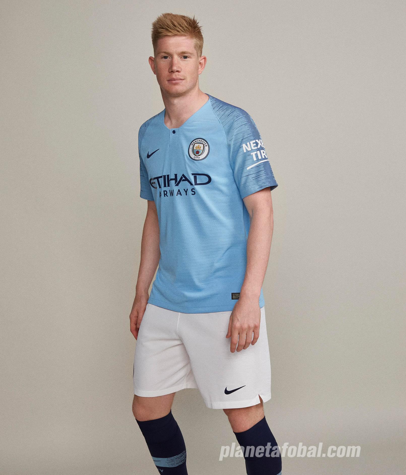 Camiseta Nike del Manchester City 2018/2019