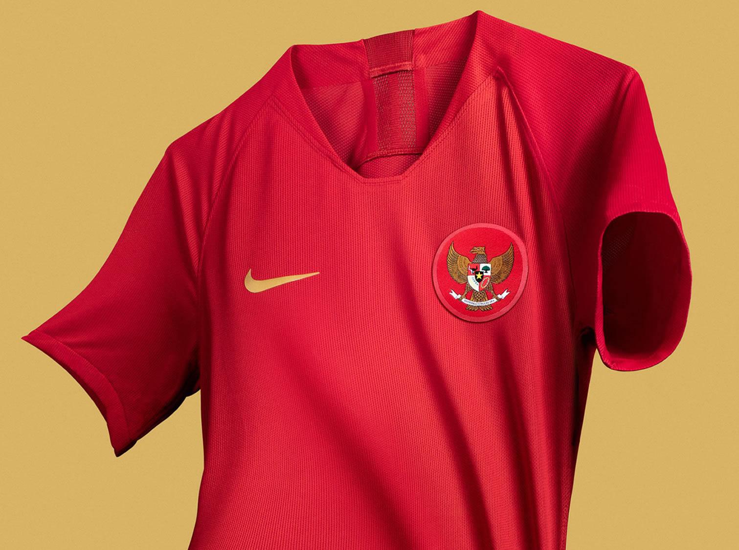 Camiseta titular de Indonesia 2018/19 | Imagen Nike