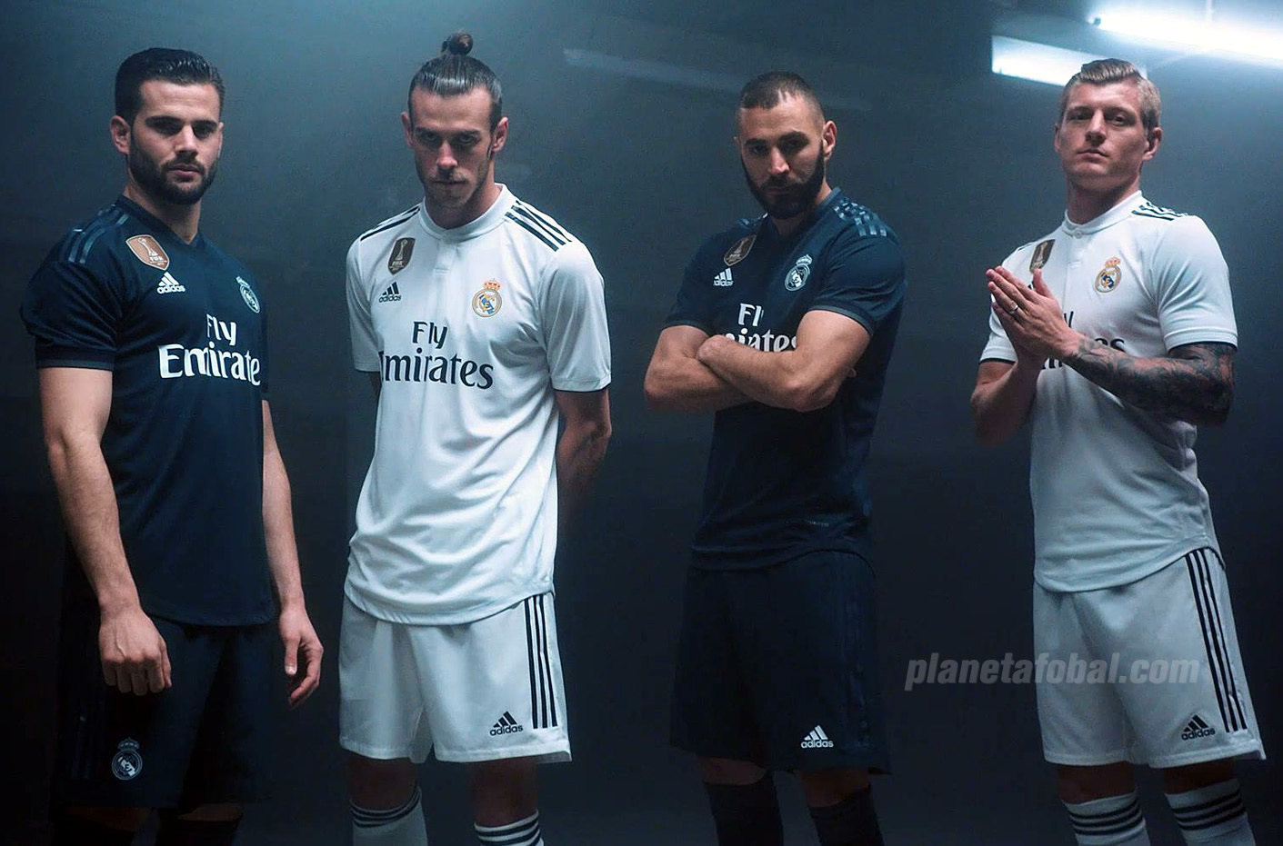 Camisetas Adidas del Real Madrid 2018/2019