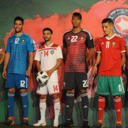 Las camisetas de Marruecos para Rusia 2018   Foto FRMF