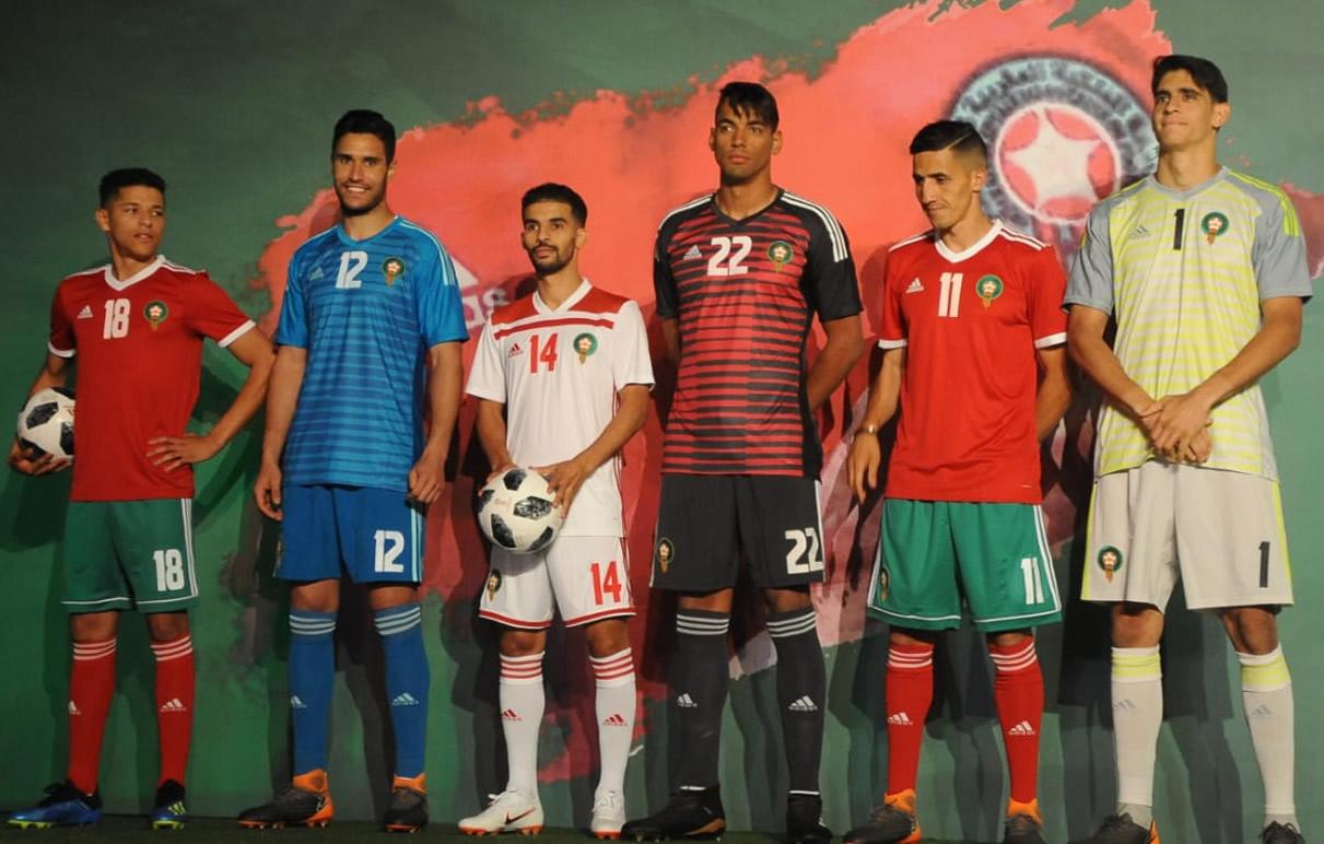 Las camisetas de Marruecos para Rusia 2018 | Foto FRMF