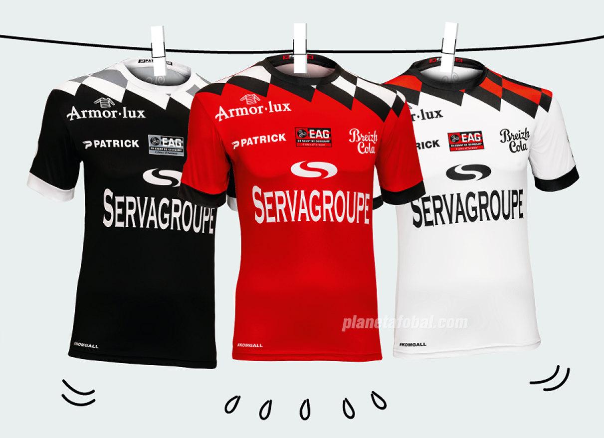Camisetas Patrick del EA Guingamp 2018/19 | Imagen Web Oficial