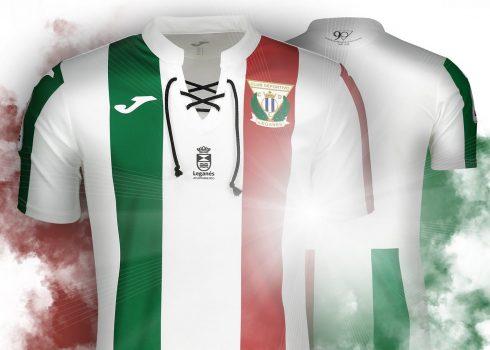 Camiseta alternativa 2018/19 del Leganés   Imagen Web Oficial