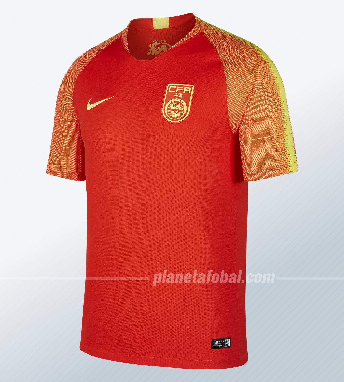 Camiseta China Nike 201819 Titular De MpLqzVGSjU