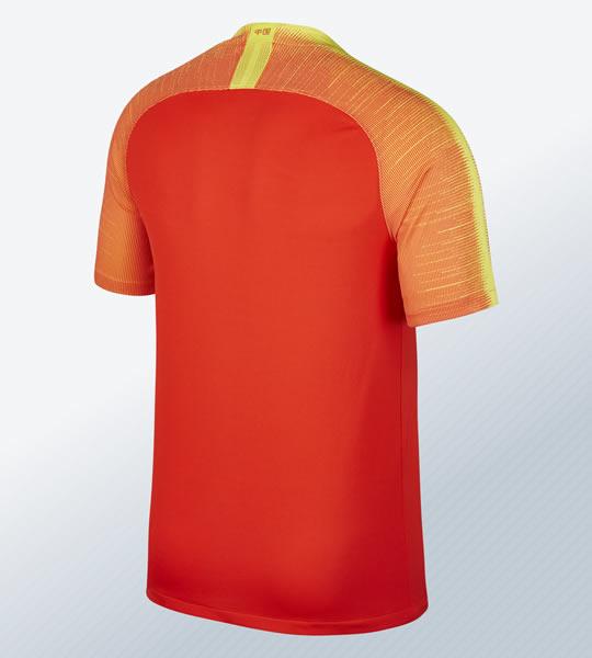 Camiseta titular 2018 de China | Imagen Nike