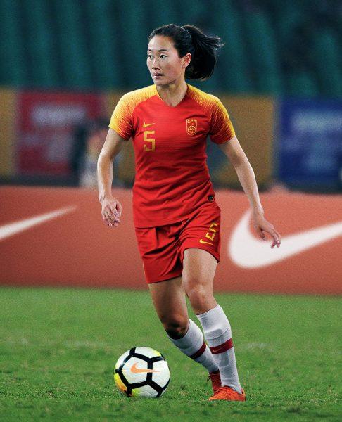 Wu Haiyan con el modelo femenino | Imagen Nike