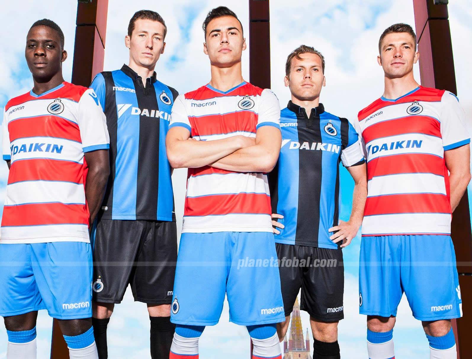 Camisetas Macron del Club Brugge | Imagen Web Oficial